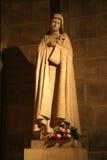 Fromme Statue Lizenzfreies Stockfoto