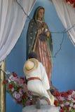 Fromme Statue Stockbilder