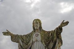 Fromme Statue Lizenzfreie Stockbilder