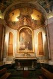 frommer Altar mit Dekorationen für zuverlässiges Lizenzfreies Stockfoto