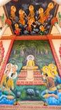 Frommer Anstrich am buddhistischen Tempel in Kambodscha Lizenzfreies Stockfoto