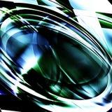 Froms eliptical abstratos Imagens de Stock