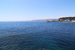 Fron agradable el mar Imagenes de archivo