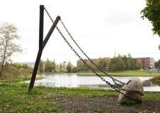 Fronde géante - objet d'art de conception de paysage de ville photo libre de droits