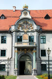Fronhof à Augsbourg Images stock