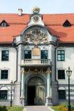 Fronhof i Augsburg Arkivbilder