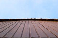 Frontão da casa Imagem de Stock