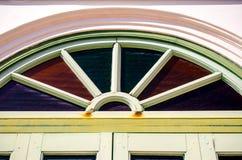 Frontão de madeira velho Foto de Stock Royalty Free