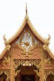 Frontón del templo Fotografía de archivo libre de regalías