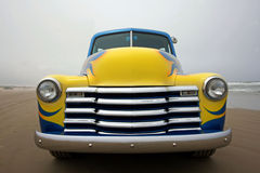 Front of 1953 Chevy truck Royalty Free Stock Photography