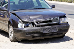 Front accident Stock Photography