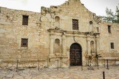 Front of Alamo in San Antonio,Texas. Stock Photo