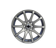 Front Aluminium wheel Stock Image