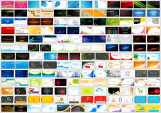 Free Front And Back Of Corporate Business Visiting Card Jumbo Collection Stock Image - 60091231