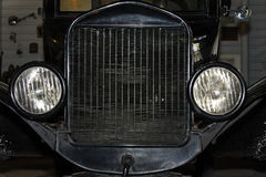 Front of Antique Car Stock Image