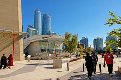 In front of the Aquarium Canada. Royalty Free Stock Photos