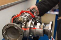 Front Axle Gear - schauen Sie nach innen Lizenzfreie Stockfotos