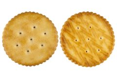 Front and back cracker Royalty Free Stock Photography