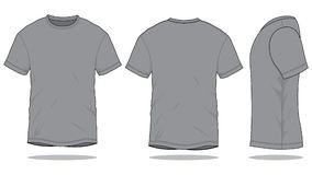 Gray T-Shirt Vector for Template vector illustration