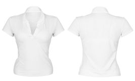 Front and back t-shirt Royalty Free Stock Images
