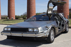 Front of Back to the Future Royalty Free Stock Photography