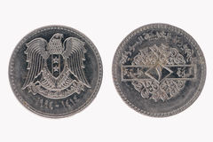 Egyptian coin Royalty Free Stock Photography