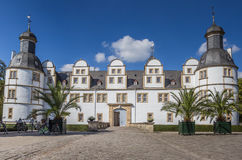 Front of the baroque castle Neuhaus in Paderborn. Germany Royalty Free Stock Photos