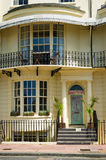 Front of a beautiful house. Royalty Free Stock Photography