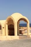 Front of bedouin building Stock Image