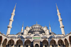 Blue Mosque, Istanbul. Sultanahmet Camii most famous as Blue Mosque in Istanbul, Turkey Stock Photos