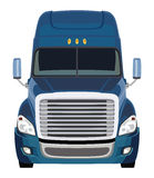 Front blue truck Royalty Free Stock Photos