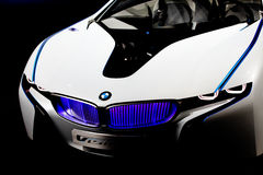 Front of BMW Concept Car Vision Royalty Free Stock Photo