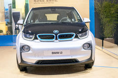 The front of the BMW i3 car Royalty Free Stock Photography