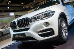 Front of BMW X6 at the Singapore Motorshow 2015 Stock Images