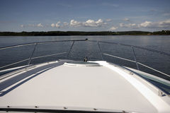 The front of a boat Royalty Free Stock Photography