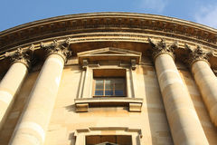Front of the Bodleian Library, Oxford. Front of the Bodleian Library in Oxford, UK Royalty Free Stock Image