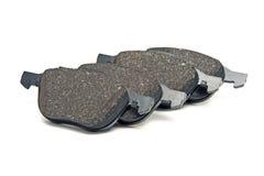 Front brake pads kit royalty free stock photos