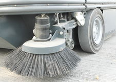 Front Brush of Road sweeper Royalty Free Stock Photos