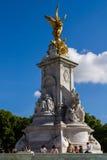 Front of Buckingham palace. Opposite Buckingham palace London UK Royalty Free Stock Photos