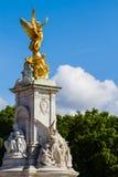 Front of Buckingham palace. Opposite Buckingham palace London UK Royalty Free Stock Photo