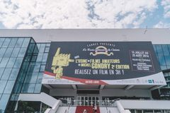 Cannes Film Festival stock images