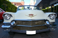 Front of an cadillac retro car Stock Photos