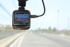 Front camera car recorder Royalty Free Stock Image