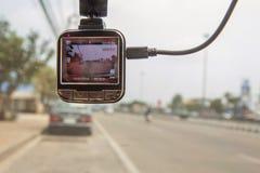 Front camera car recorder Royalty Free Stock Photography
