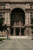 Front Of Capitol Texas 2. View of entrance of capitol hill in austin, texas royalty free stock photography