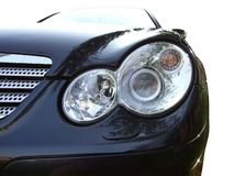 Front of car light Royalty Free Stock Images