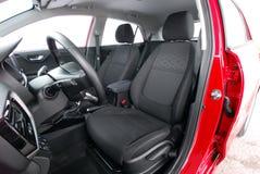 Front car seats stock photos