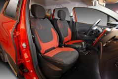 Front car seats Royalty Free Stock Photo