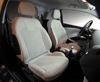 Front car seats Royalty Free Stock Photography