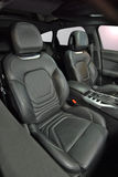 Front car seats Royalty Free Stock Images
